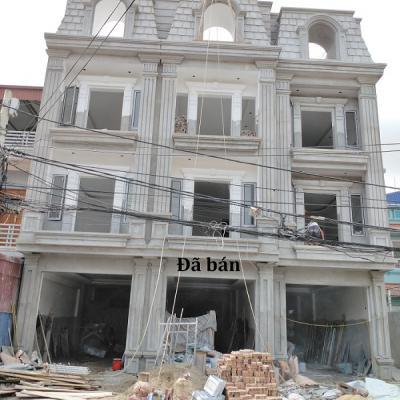 Nhà 4 tầng mặt đường Bùi Thị Tự Nhiên, P Đông Hải, Hải An, Hải Phòng